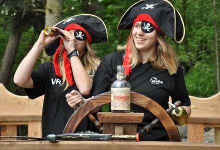 Pirátský den ve family parku Skalka - slavnostní otevření nových atrakcí