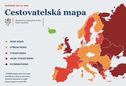 Chorvatsko NOVĚ v červené barvě