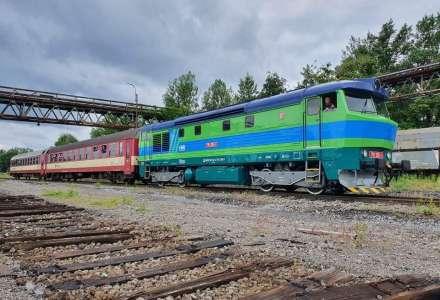 Víkendové vlakové vyjížďky po uhelných vlečkách byly zahájeny