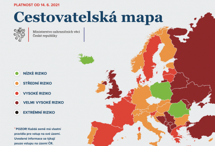 Do Bulharska nejspíš už 22 dní po první vakcíně. Lépe se pojede i do Polska nebo Rumunska