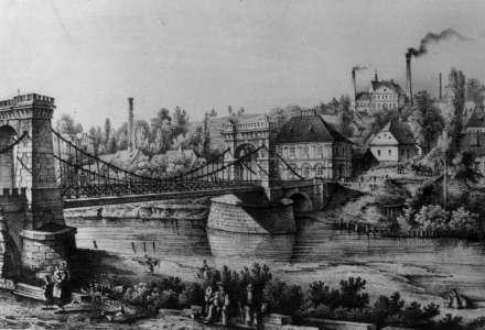 Původní řetězový most