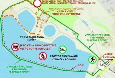 Letní sezóna na Hlučínském jezeře začala s omezeními