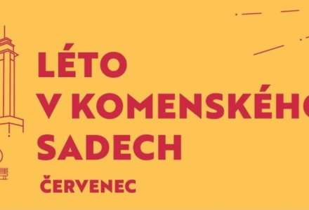 Léto v Komenského sadech - program na červenec