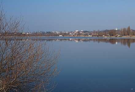 První etapa revitalizace jezera v Hlučíně na Opavsku se protahuje