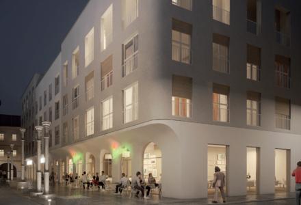 Nové Lauby nabídnou v centru Ostravy 56 nových bytů