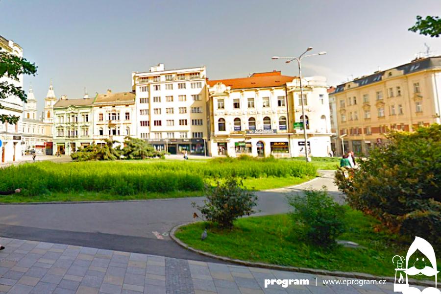 V Ostravě začala oprava proluky u centrálního Masarykova náměstí