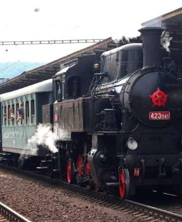 Při oslavách trati Štramberk - Studénka bude jezdit vlak s parní lokomotivou