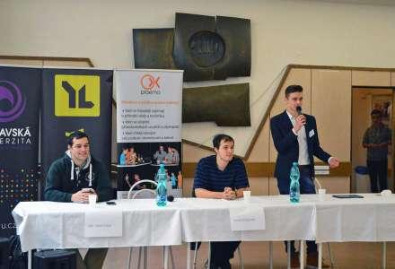 Už jen to, že se student zapojí do projektu, značí úspěch, říká maturant Matěj Prokop
