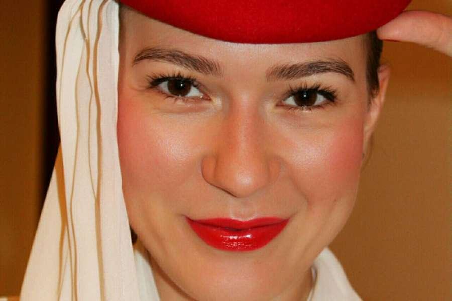 Profese letušky může být práce snů, říká ostravská rodačka Veronika Klesnilová