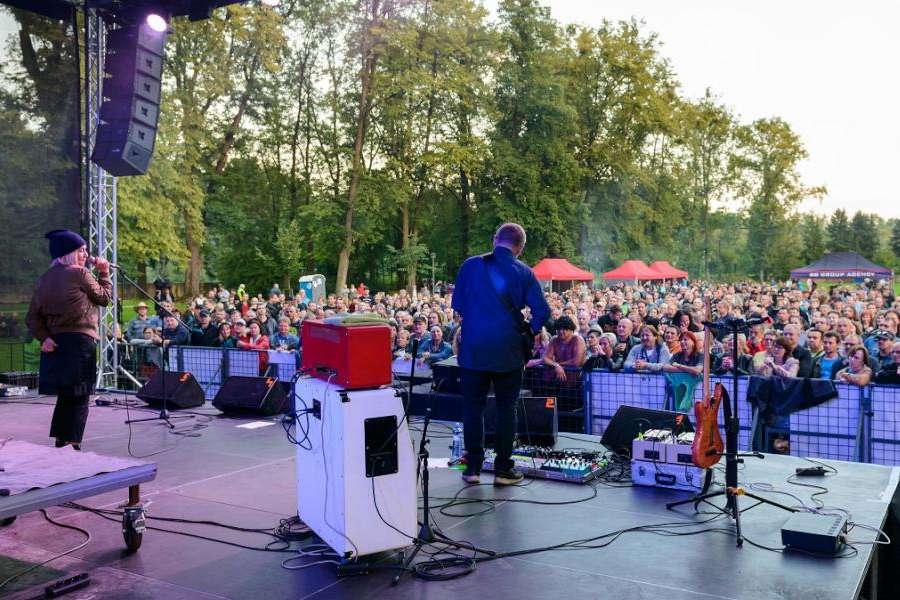 Rockování nad Olzou - těšínský open-air festival