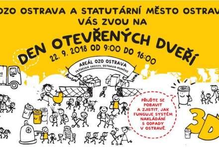 Den otevřených dveří v areálu OZO Ostrava
