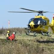 Pravidelné cvičení moravskoslezských leteckých záchranářů