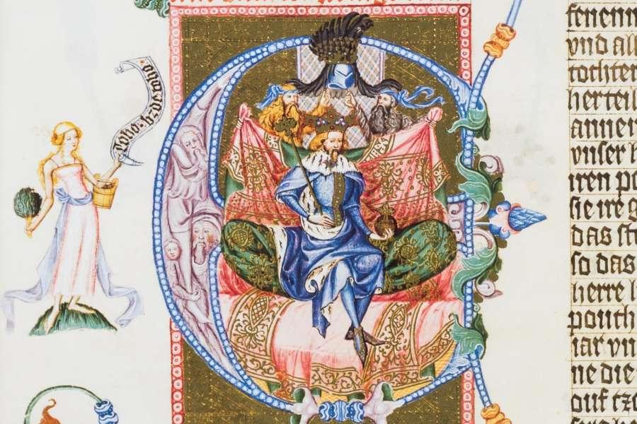 Méně a více známá vyobrazení Václava IV.