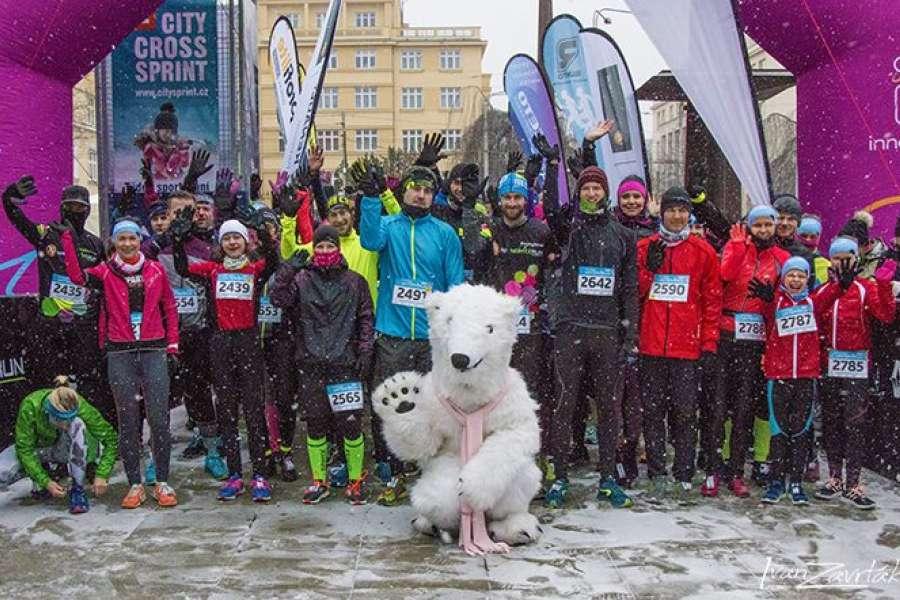Fotografie z Innogy Winter Run 2019