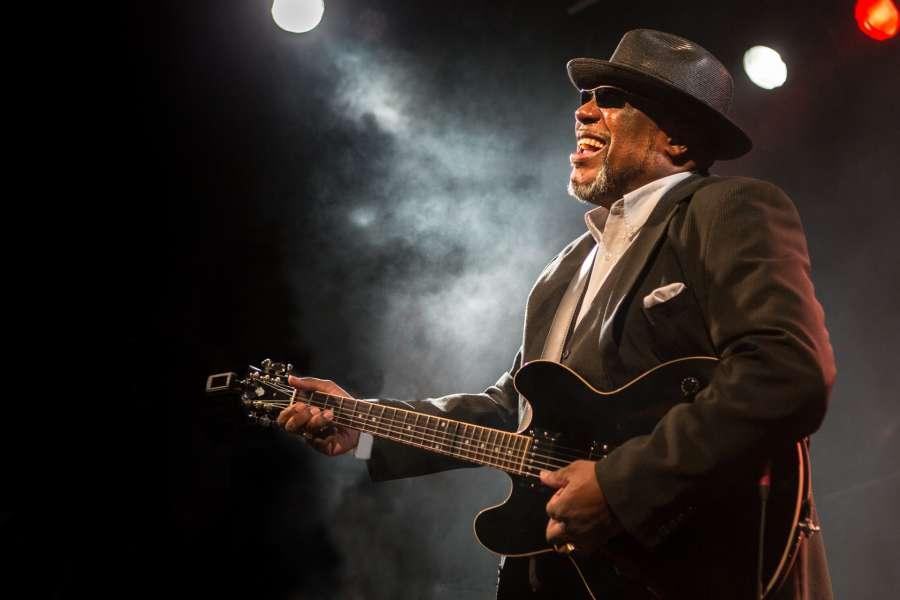 Oceňovaný bluesman Big Daddy Wilson v Parníku