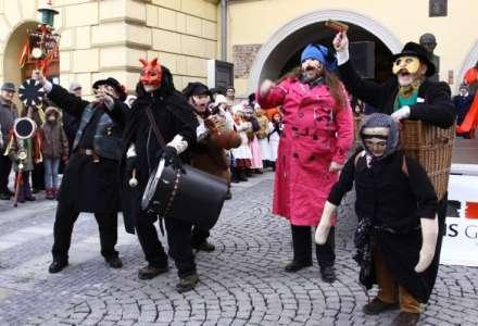 Masopust v centru Ostravy