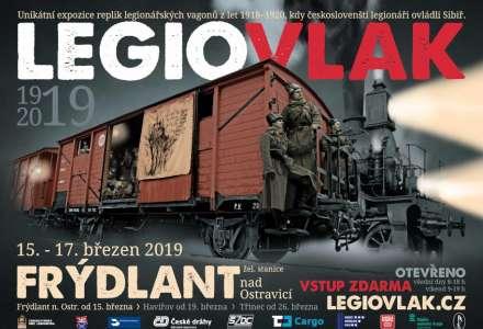 Legiovlak zahájí svou cestu rokem 2019 na severu Moravy