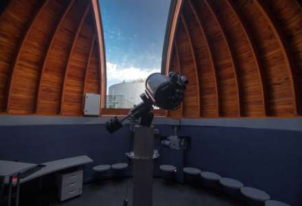 Večerní pozorování na hvězdárně