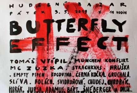 Hudebně literární Butterfly Effect bude pestrý
