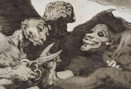 Vzácná sbírka grafik Francisca Goyi na zámku v Hradci n. Moravicí
